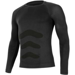 APOL 9090 černá termo bezešvé triko