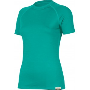 ALEA 6565 zelená vlněné Merino triko