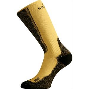 c7a15f8623b WSM 640 hořčicová merino ponožky