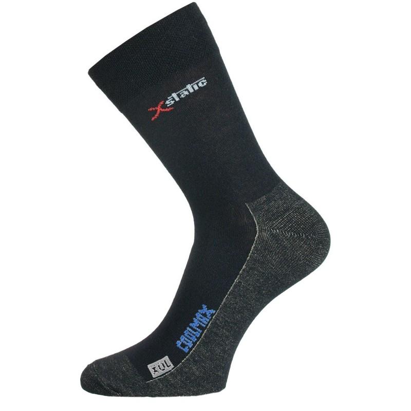 XOL 900 černé ponožky se stříbrem 3a5ef67441
